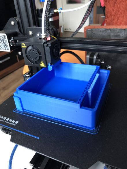 3D tiskárna Ender 3 Pro a první výtisky