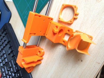 Upgrade 3D tiskárny Geeetech Prusa I3 pro B – část I.